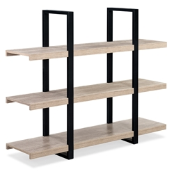 Stavanger Modern Natural Low Bookcase