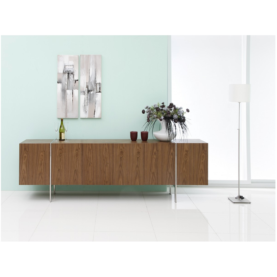 Struttura Walnut Contemporary Sideboar