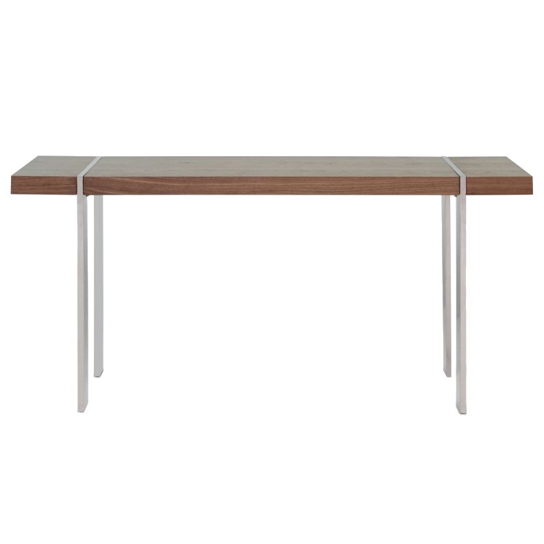 Walnut Console Table struttura modern walnut console table | eurway