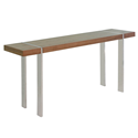 Sinclair Walnut Modern Console Table