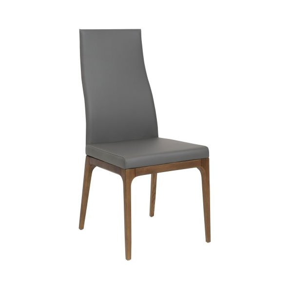 Sullivan modern high back dining side chair eurway for Modern high back dining chairs