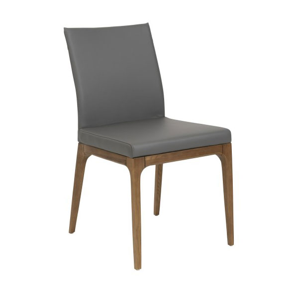 Sullivan modern low back dining side chair eurway for Modern low back dining chairs