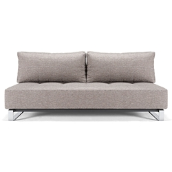 Supremax Excess Full Sleeper Sofa in Grey