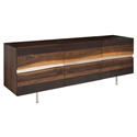 Swanson Seared Oak + Metal Contemporary Sideboard