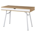 Sweden Modern Pine + White Desk