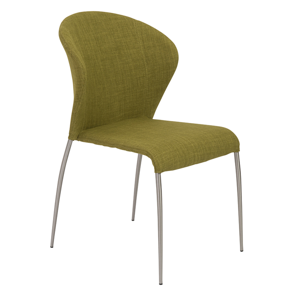 Sy Green Modern Side Chair