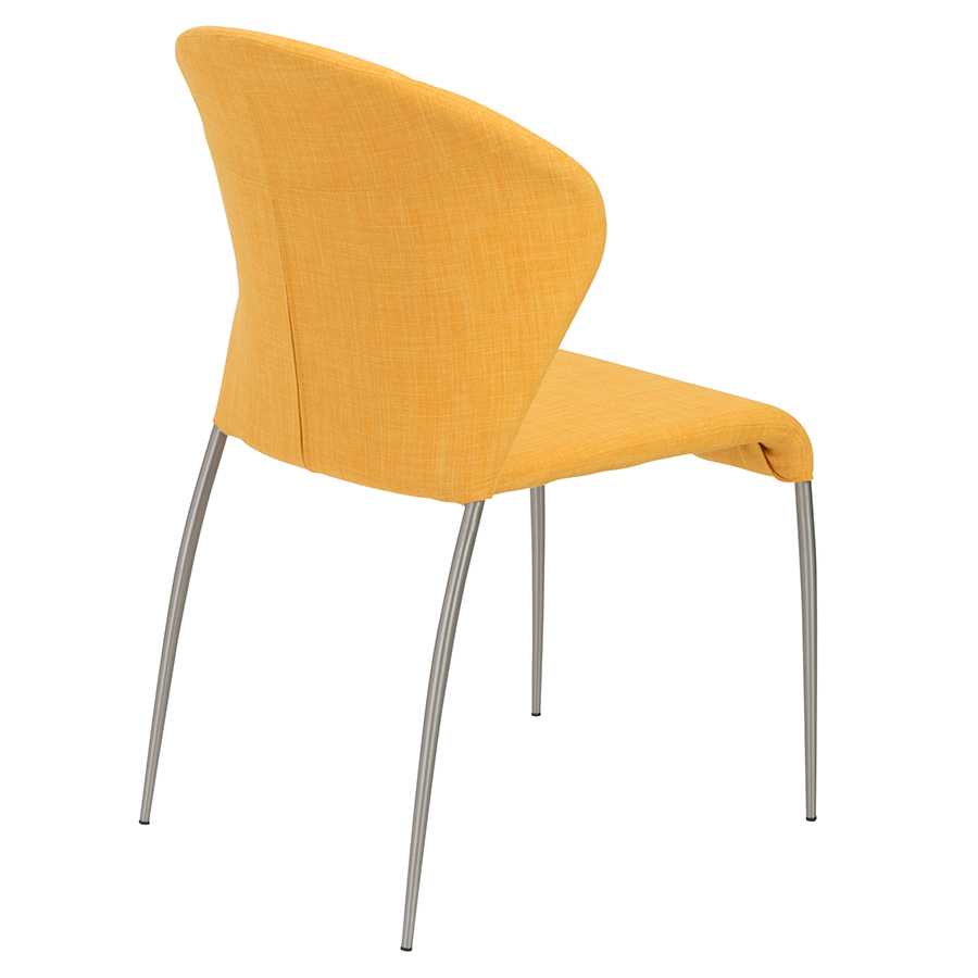 Superior ... Sy Yellow Contemporary Dining Chair ...