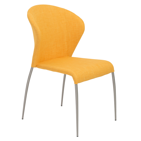 Modern dining chairs sy yellow side chair eurway for Modern yellow dining chairs