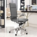 Sydney Gray Contemporary High Back Office Chair