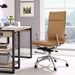 Sydney Tan Contemporary High Back Office Chair