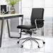 Sydney Black Contemporary Low Back Office Chair