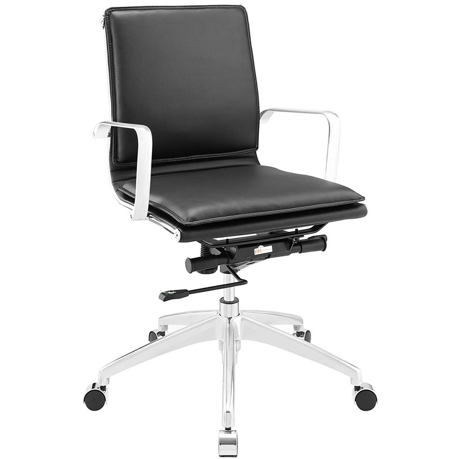 Sydney Black Modern Low Back Office Chair