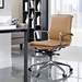 Sydney Tan Contemporary Low Back Office Chair