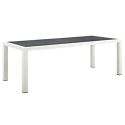 Sylvie 90 Inch Modern Outdoor Dining Table