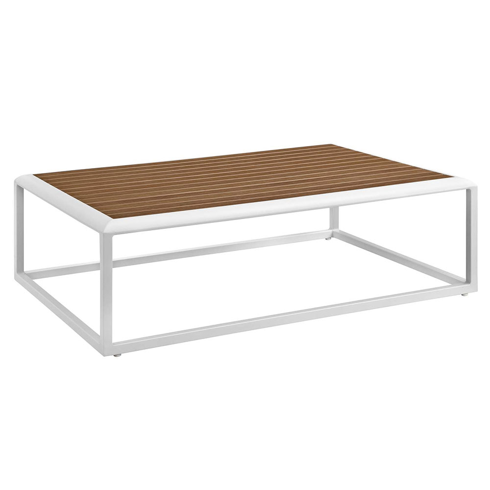 Sylvie Contemporary Outdoor Coffee Table