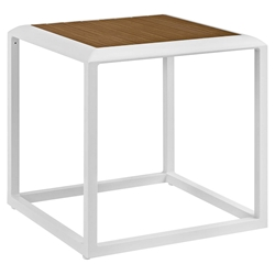 Sylvie Contemporary Outdoor Side Table