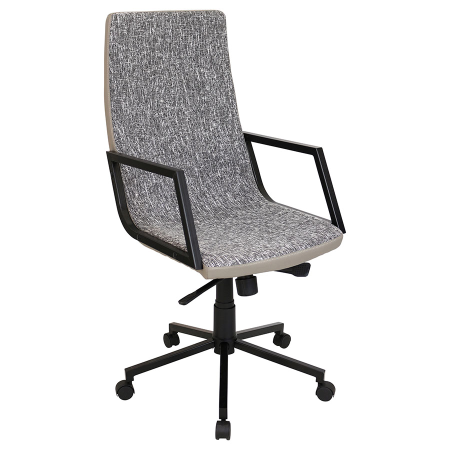 Synergy Black Modern Office Chair Eurway Furniture