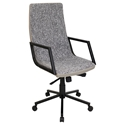 Synergy Modern Executive Office Chair in Black