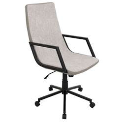 Synergy Modern Executive Office Chair in Tan