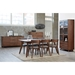 Tacoma Walnut Contemporary Dining Collection