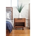 Tacoma Contemporary Walnut Nighstand