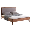 Tahoe Modern Walnut Platform Bed