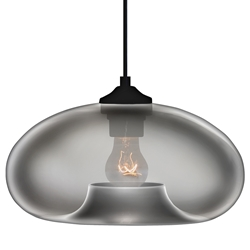 Tagus Modern Hanging Lamp in Smoke