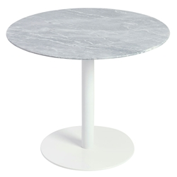 Talca Dining Table with White Base