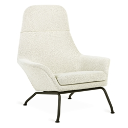 Gus* Modern Tallinn Chair in Copenhagen Fossil Fabric