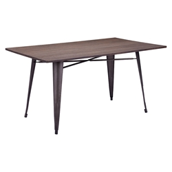 Titus Rectangle Contemporary Dining Table
