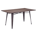 Tamir Rectangle Contemporary Dining Table