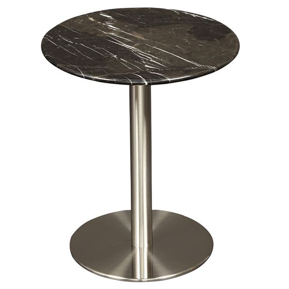 Tammy Black Marble Side Table By Euro Style Eurway