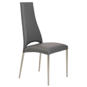 Tara Gray Modern Side Chair