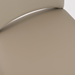 Thorpe Taupe Leatherette Contemporary Side Chair Detail