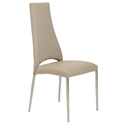 Thorpe Taupe Modern Side Chair