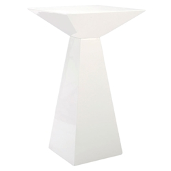 Taylor White Modern Bar Table