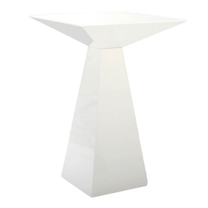 Taylor White Modern Counter Table