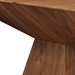 Tad American Walnut Modern Side Table