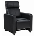 Tennyson Modern Push Back Recliner