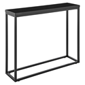 Teresa Modern Black Console Table by Euro Style