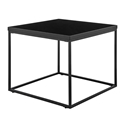 Teresa Modern Black Side Table by Euro Style