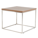 Teresa Walnut Modern Side Table