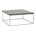 Modern Coffee Tables - Teresa Square Gray Coffee Table