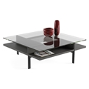 Terrace Contemporary Square Charcoal Coffee Table by BDI