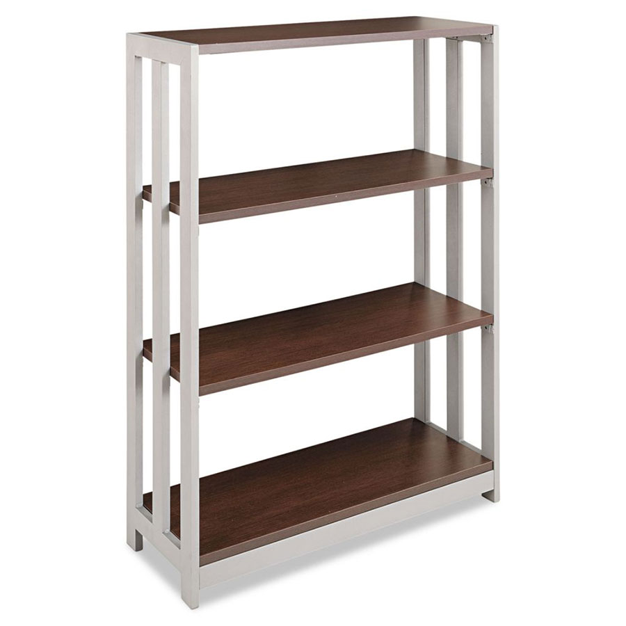 Terrance Modern Mocha-Colored Shelf