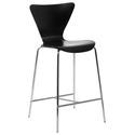 Terrell Modern Black Counter Stool