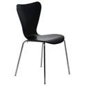 Terrell Modern Black Dining Chair