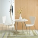 Terrell Modern Side Chair in White