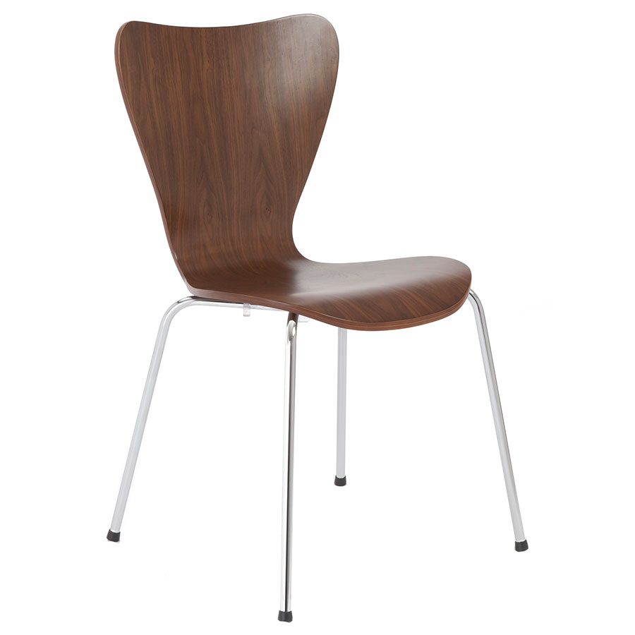 Walnut dining chairs modern 100 images modway vortex for Modern walnut dining chairs
