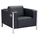 Terzo Black Modern Arm Chair
